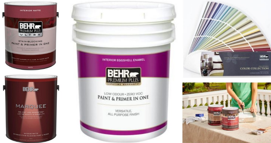 When will Behr paint be available for purchase?