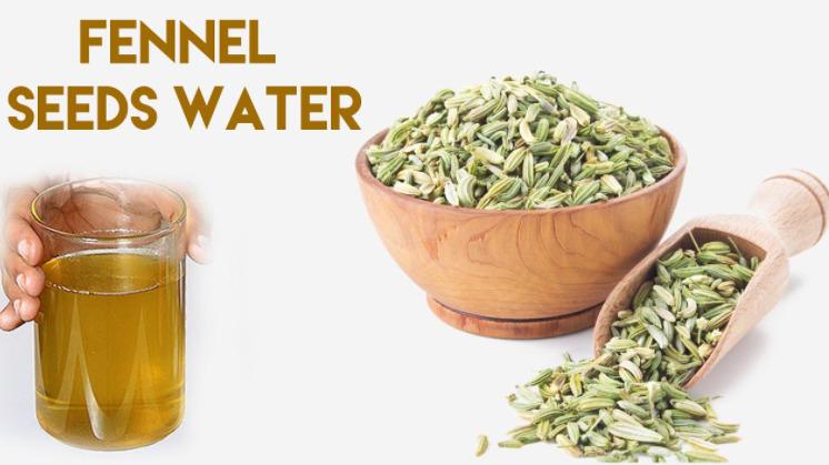 Fennel seeds water