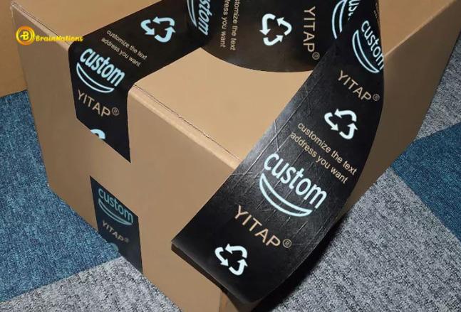 amazon logo packing tape