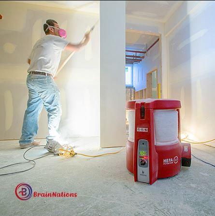 Buildclean dust control system
