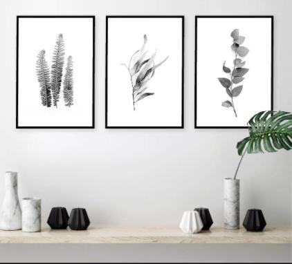 Black Framed Wall Art