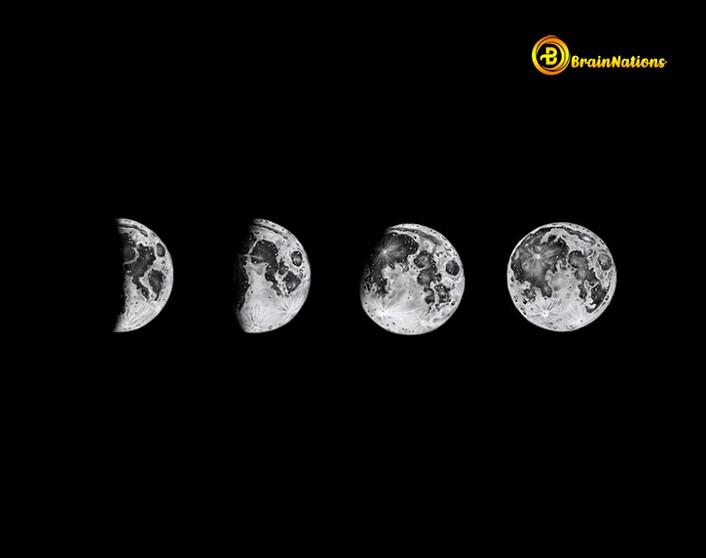 Moon drawing