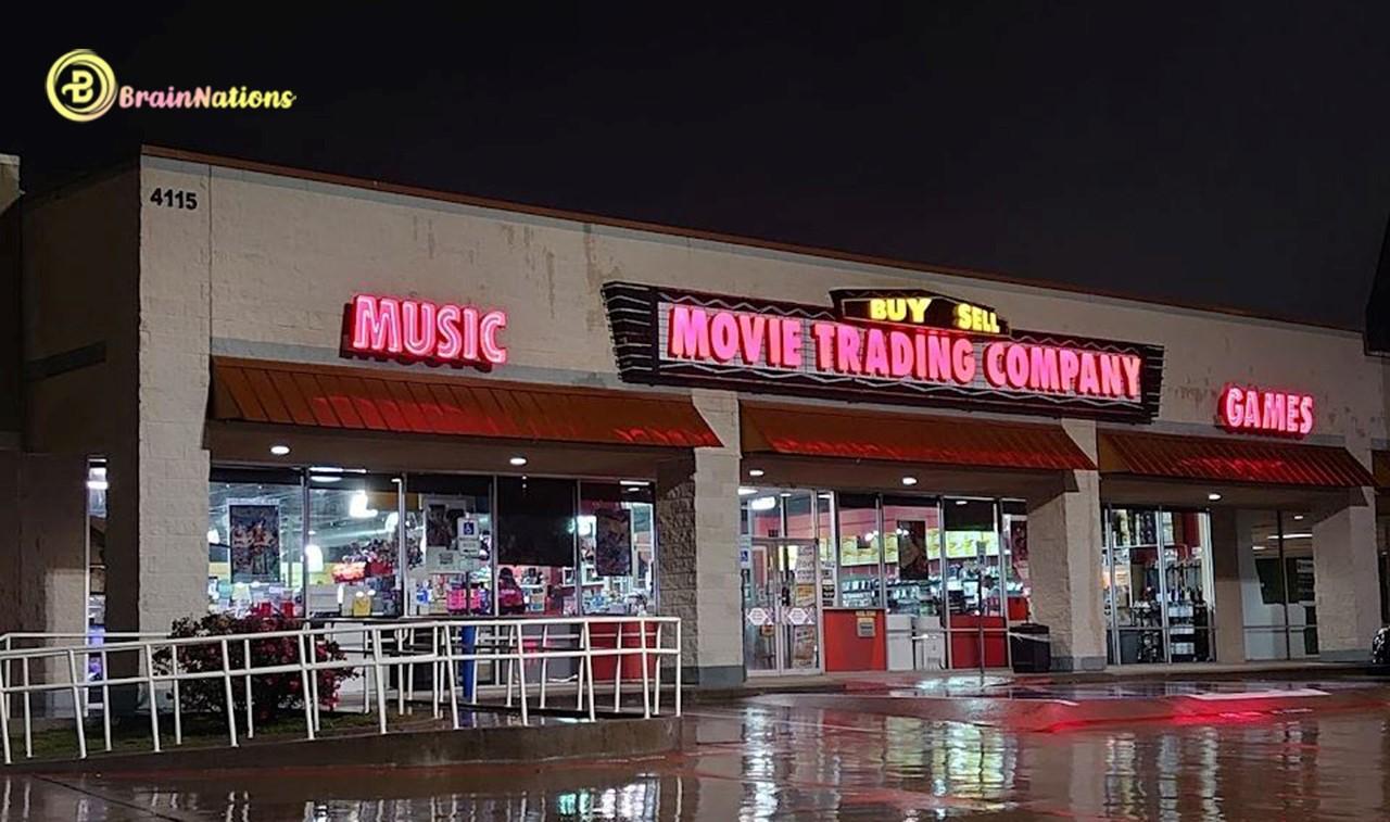 Movie trading company
