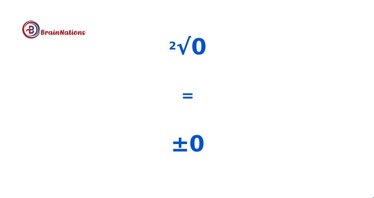 square root of 0